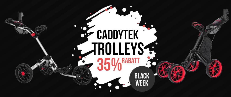 CaddyTek trolleys 35% rabatt