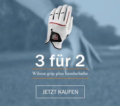 Kaufen Sie 3 Wilson Grip Plus Golf Handschuhe und erhalten Sie eine von ihnen kostenlos.
