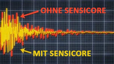 Sensicore – Vibrationsdämpfer im Schaft
